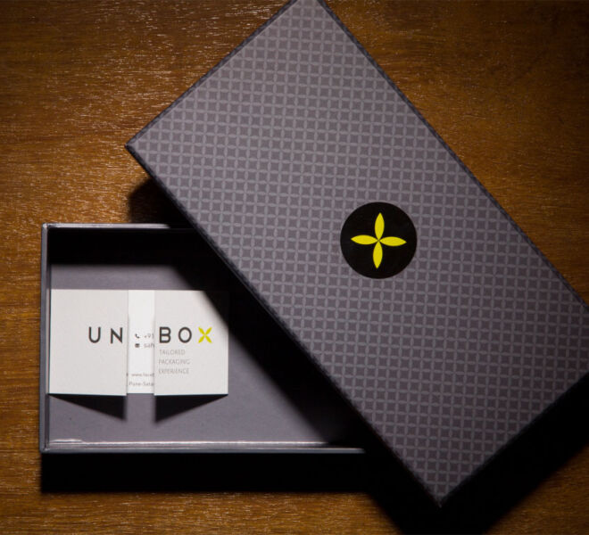 Unbox customised stationery box packaging in pune